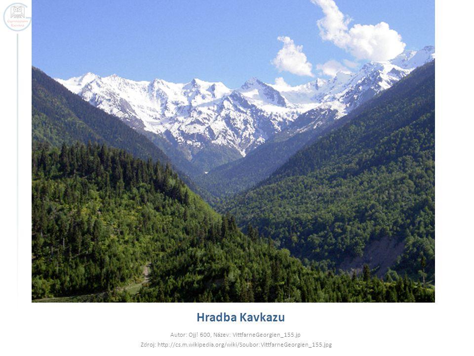 Hradba Kavkazu Autor: Ojj! 600, Název: VittfarneGeorgien_155.jp
