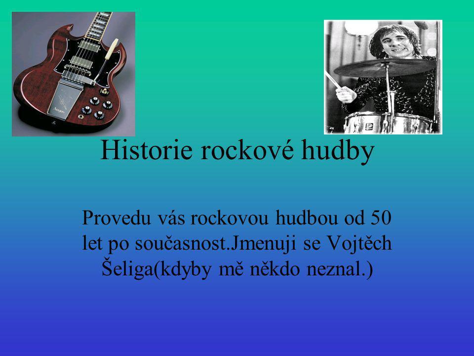 Historie rockové hudby
