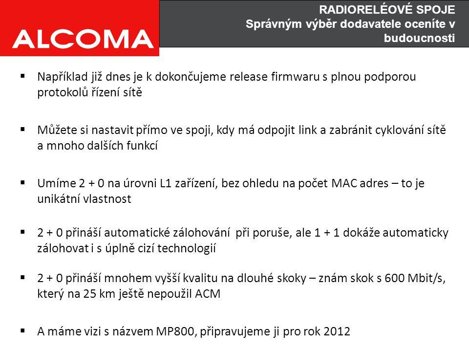 A máme vizi s názvem MP800, připravujeme ji pro rok 2012