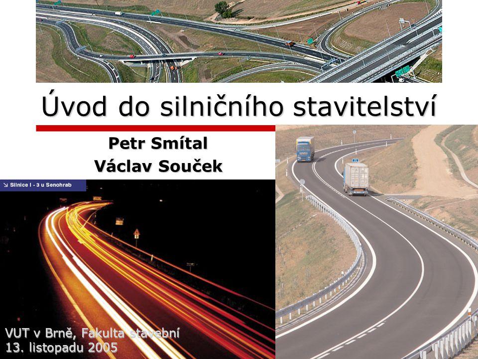 Úvod do silničního stavitelství