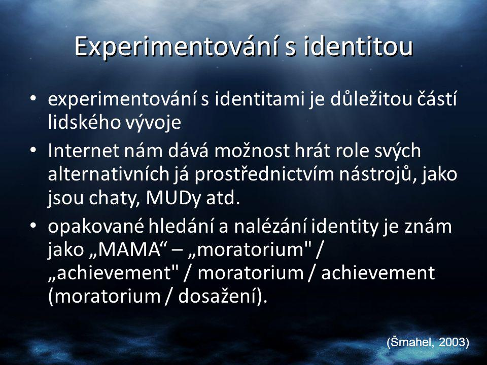 Experimentování s identitou