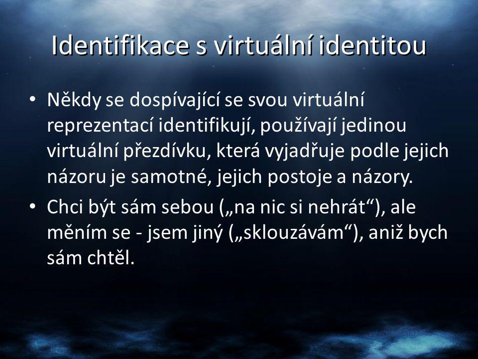 Identifikace s virtuální identitou