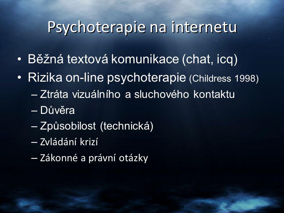 Psychoterapie na internetu