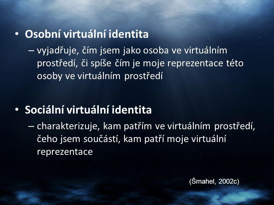 Osobní virtuální identita