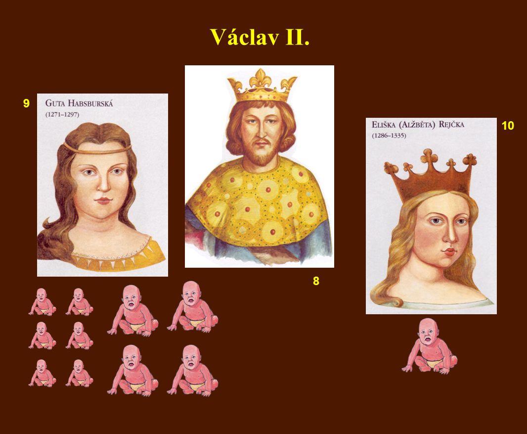 Václav II. 9 10 8