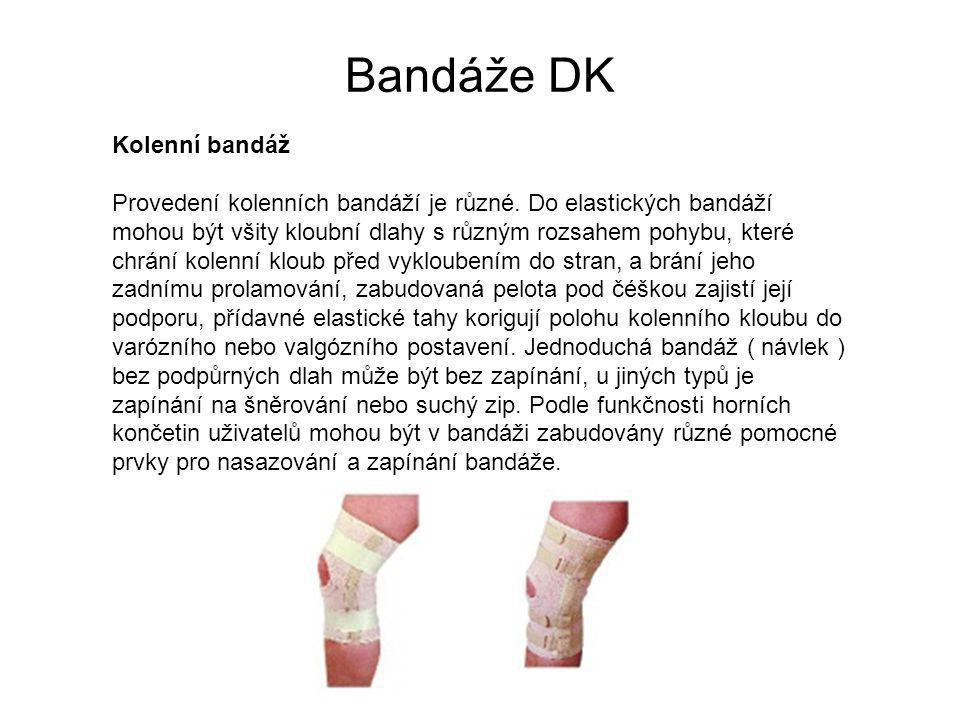 Bandáže DK
