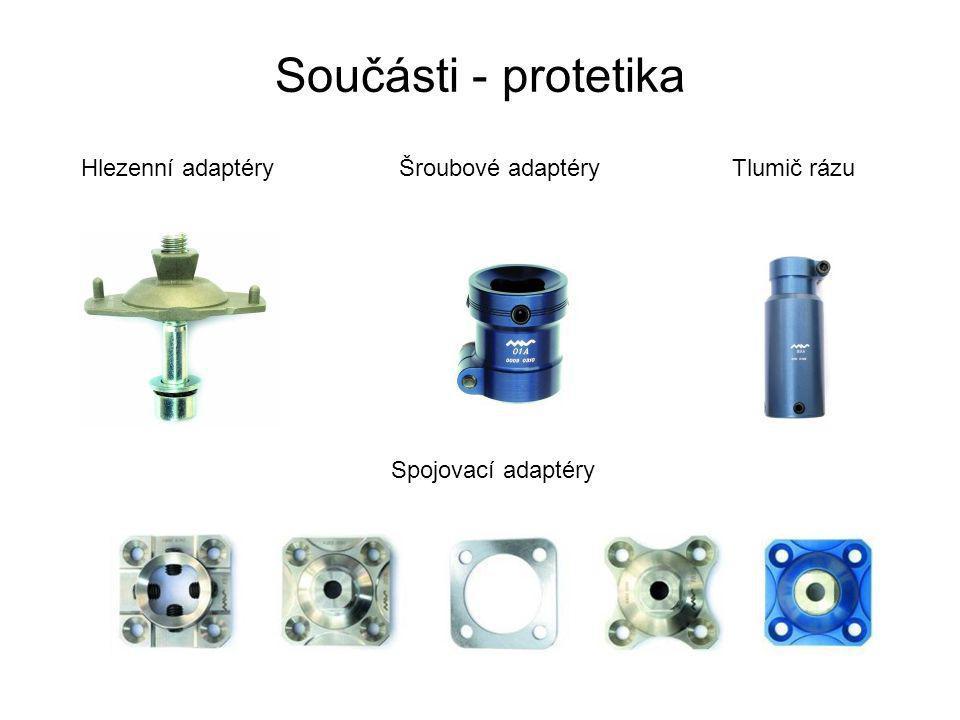 Součásti - protetika Hlezenní adaptéry Šroubové adaptéry Tlumič rázu
