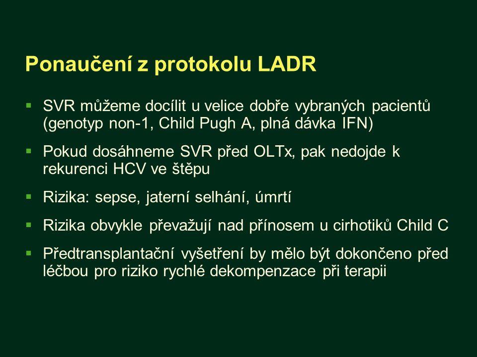 Ponaučení z protokolu LADR