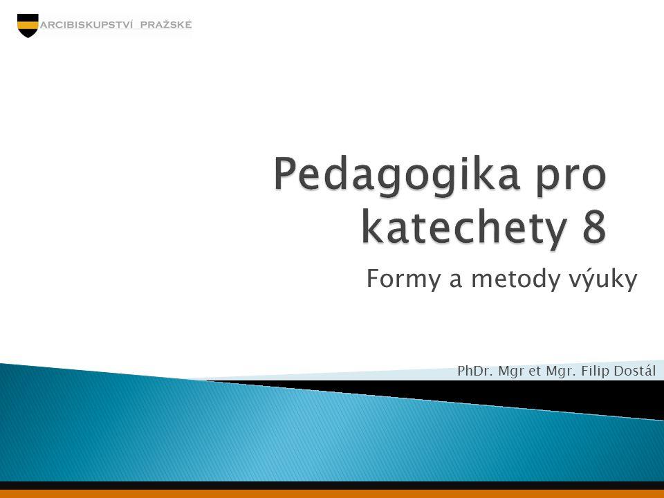 Pedagogika pro katechety 8