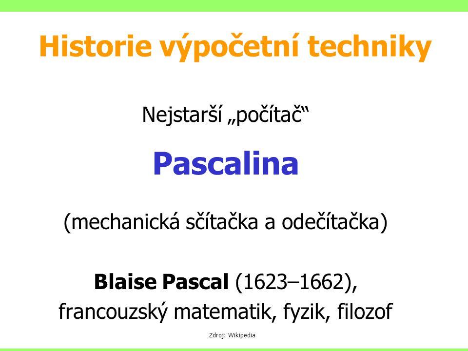 Historie výpočetní techniky