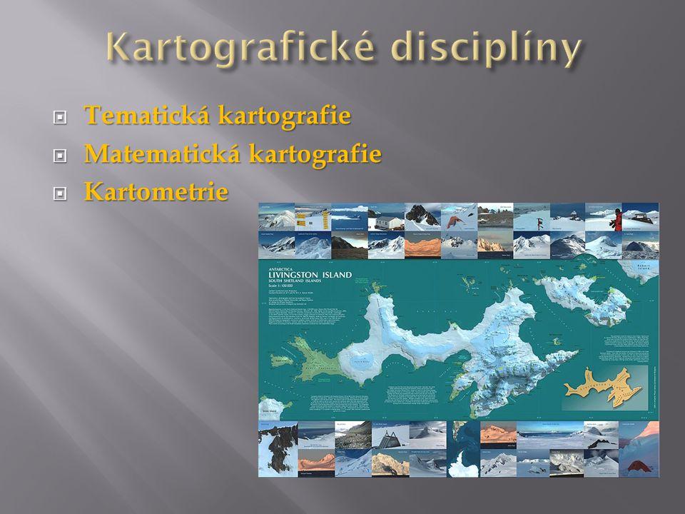 Kartografické disciplíny