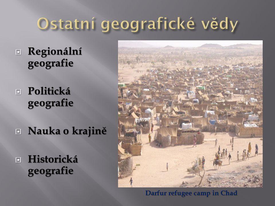 Ostatní geografické vědy