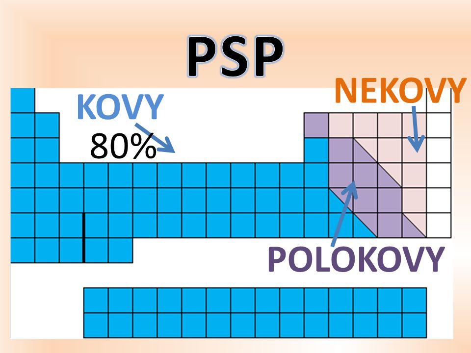 PSP NEKOVY KOVY 80% POLOKOVY
