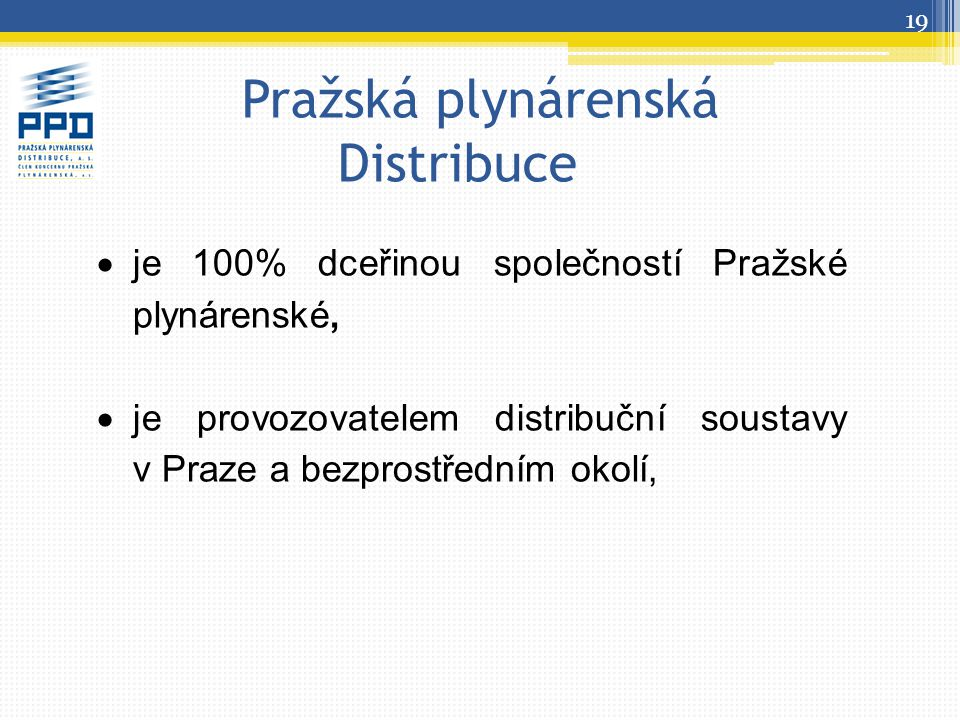 Pražská plynárenská Distribuce