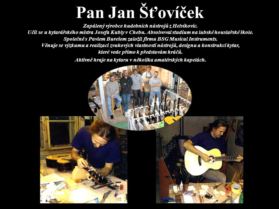Pan Jan Šťovíček