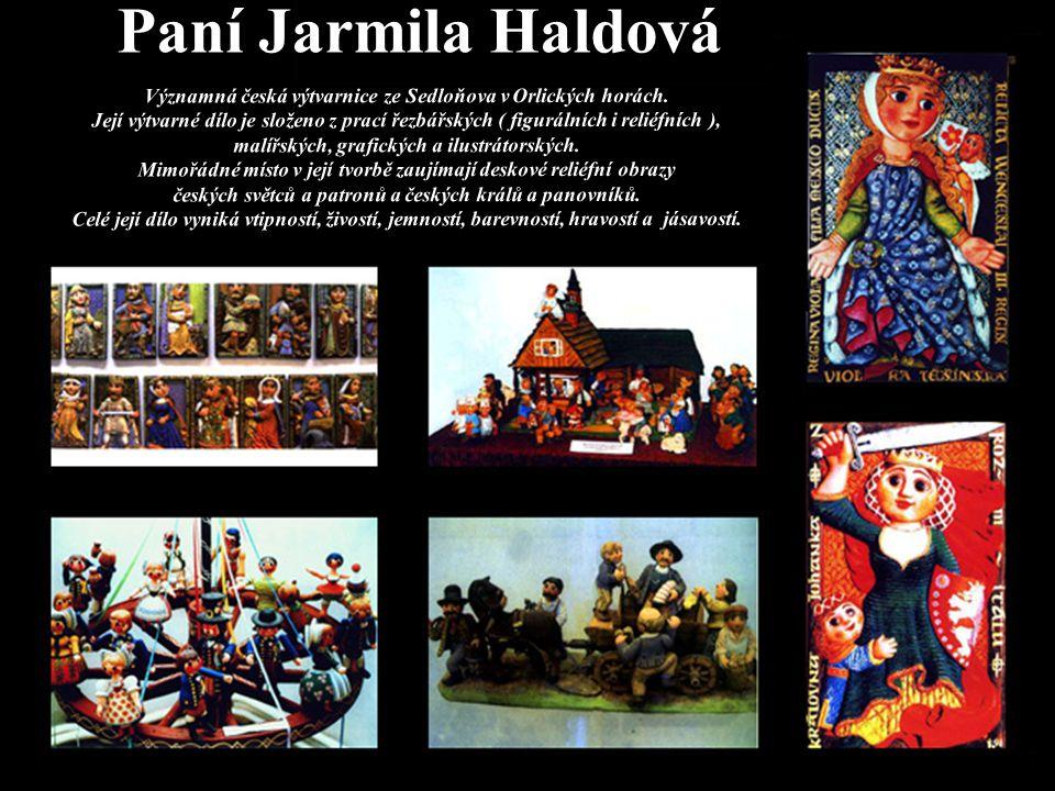 Paní Jarmila Haldová
