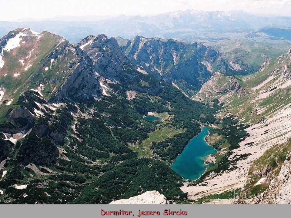 Durmitor, jezero Skrcko