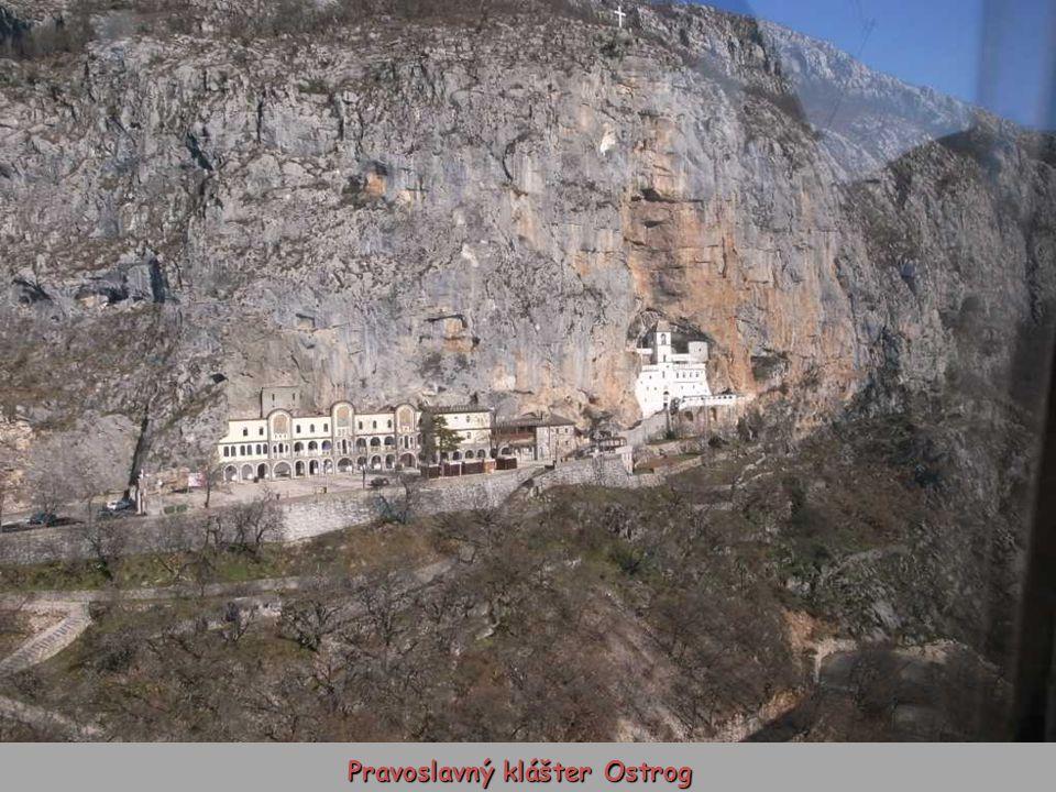 Pravoslavný klášter Ostrog