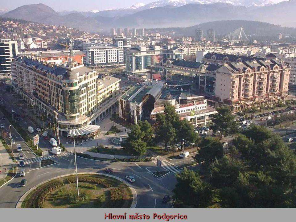 Hlavní město Podgorica