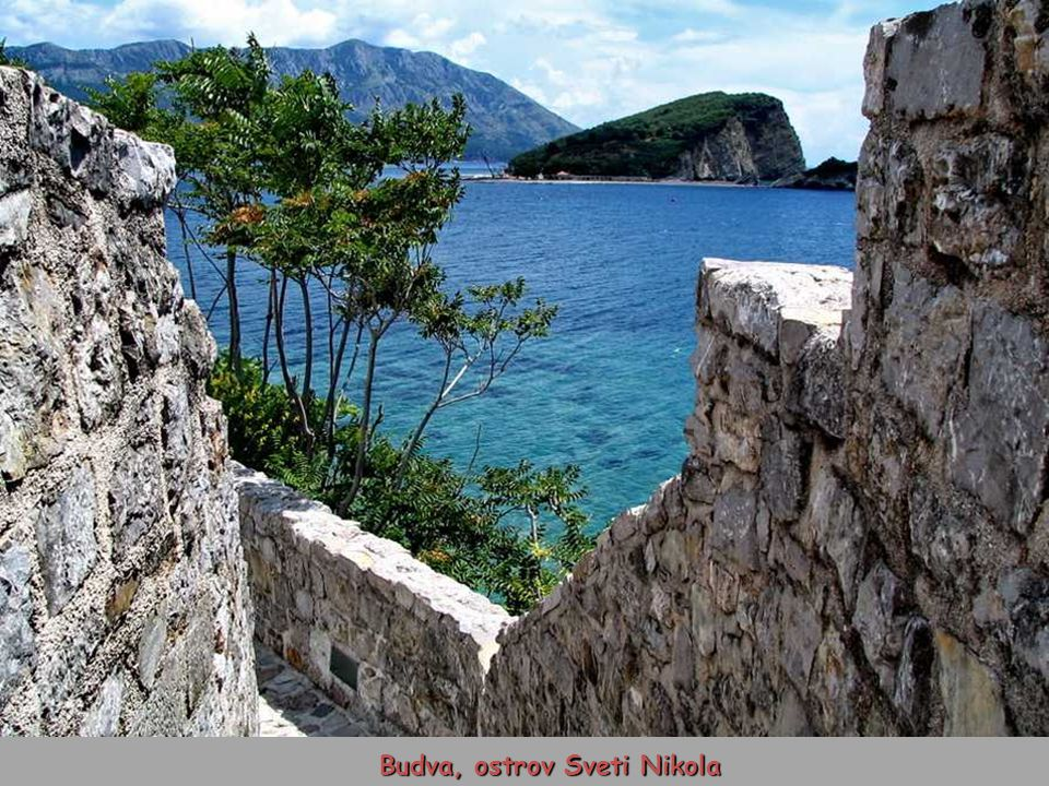 Budva, ostrov Sveti Nikola