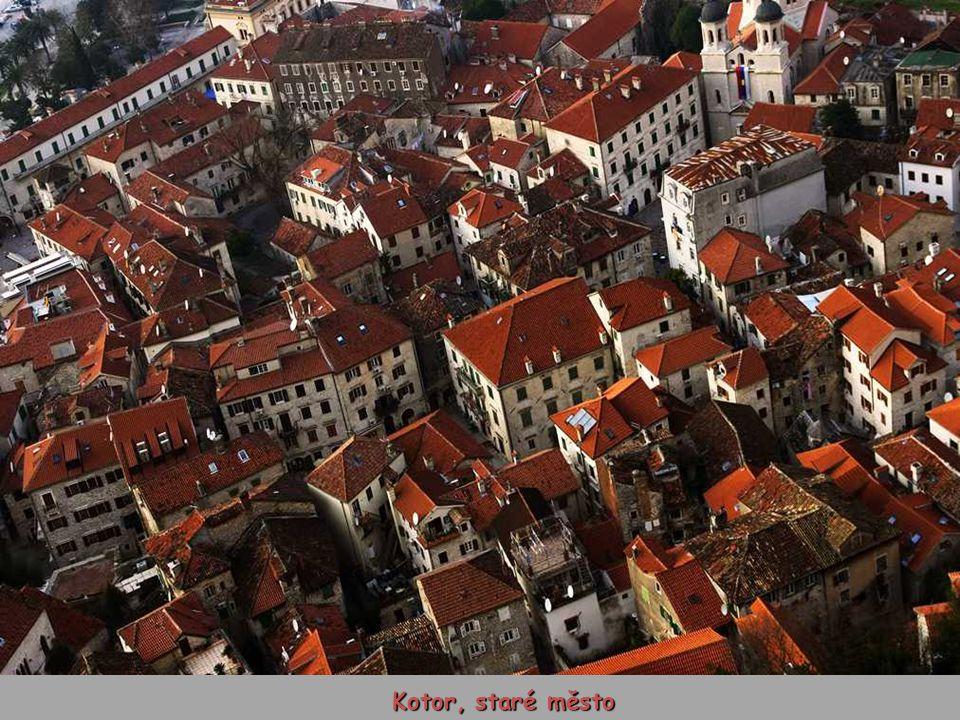 Kotor, staré město