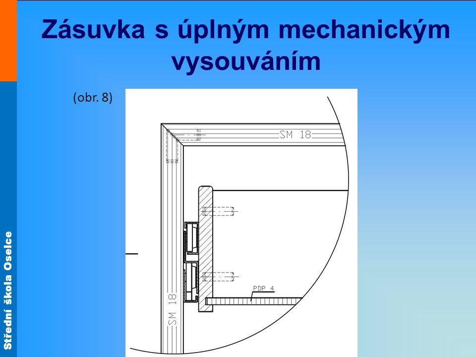 Zásuvka s úplným mechanickým vysouváním