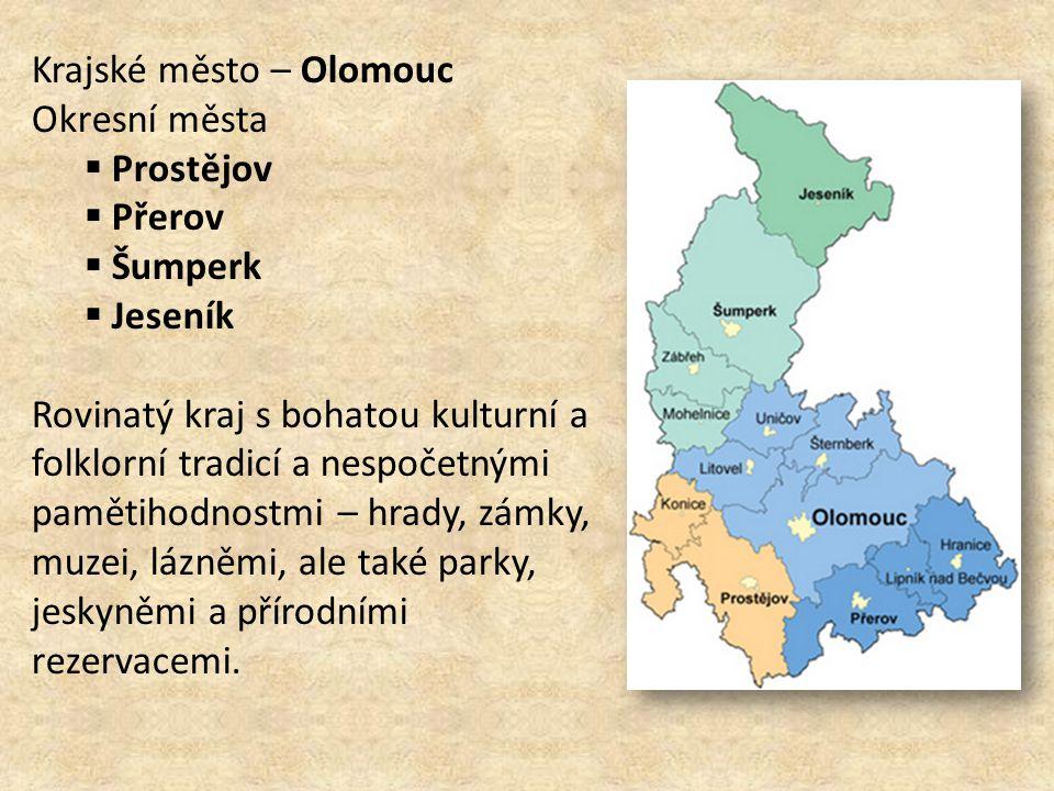 Krajské město – Olomouc