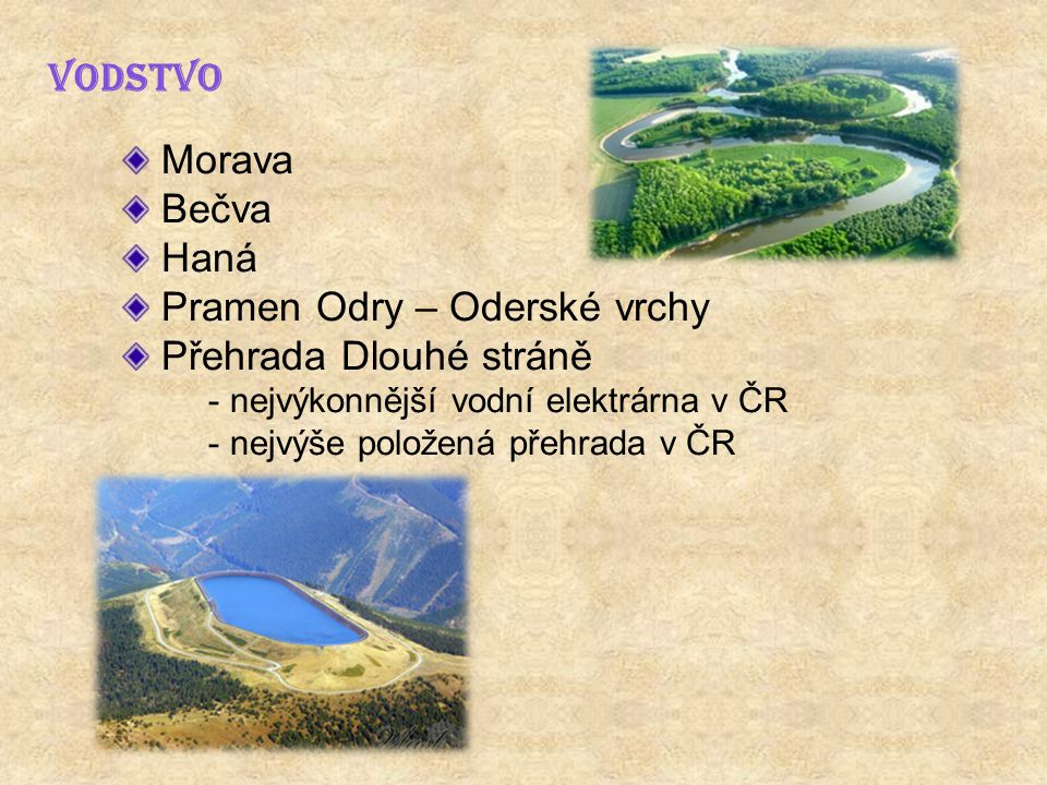 Pramen Odry – Oderské vrchy Přehrada Dlouhé stráně