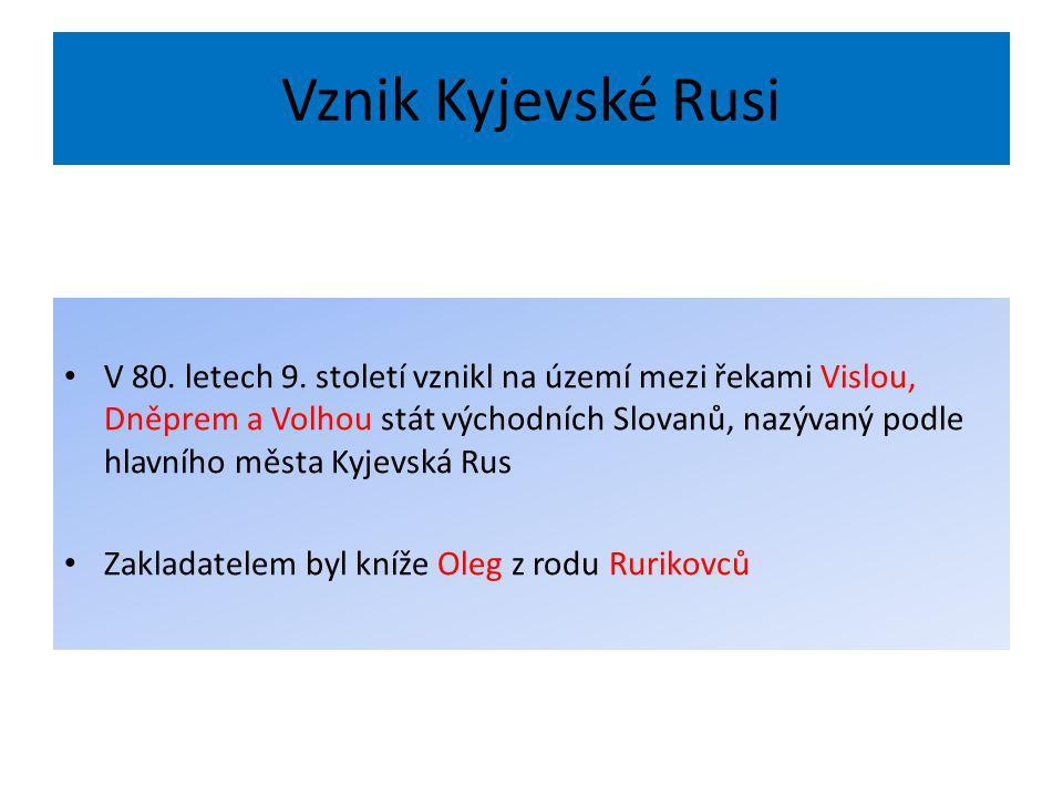 Vznik Kyjevské Rusi