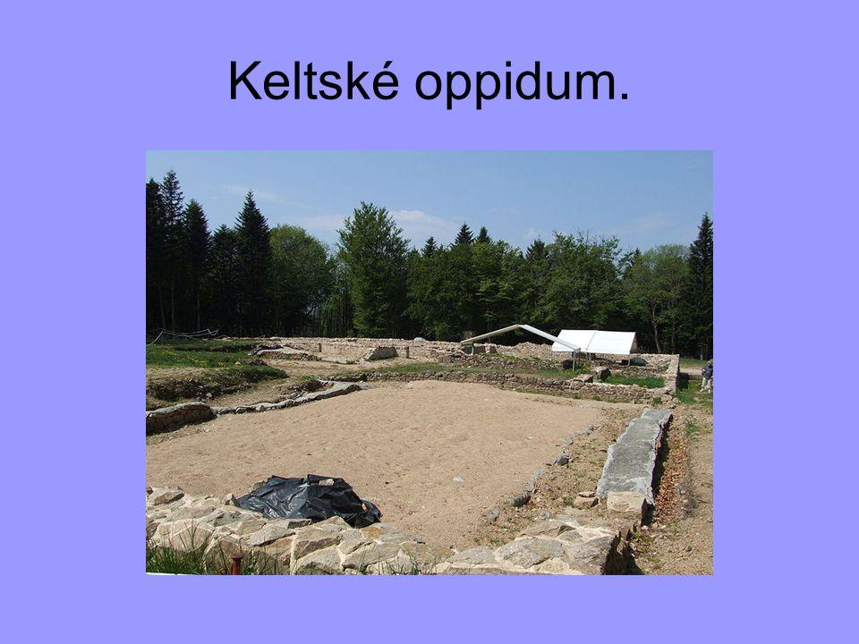Keltské oppidum.
