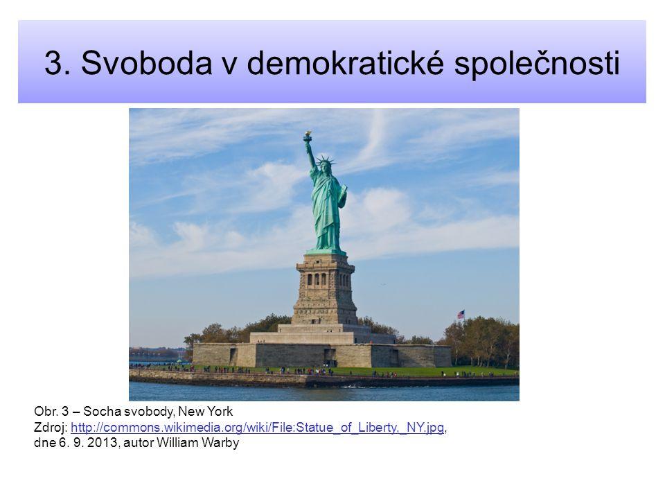 3. Svoboda v demokratické společnosti