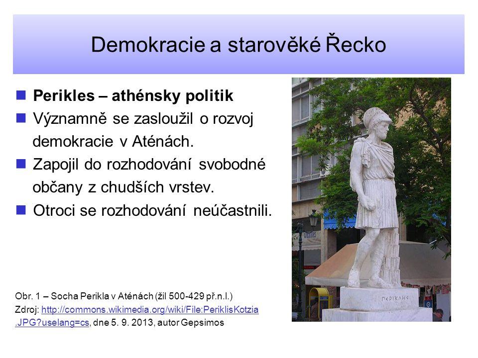 Demokracie a starověké Řecko