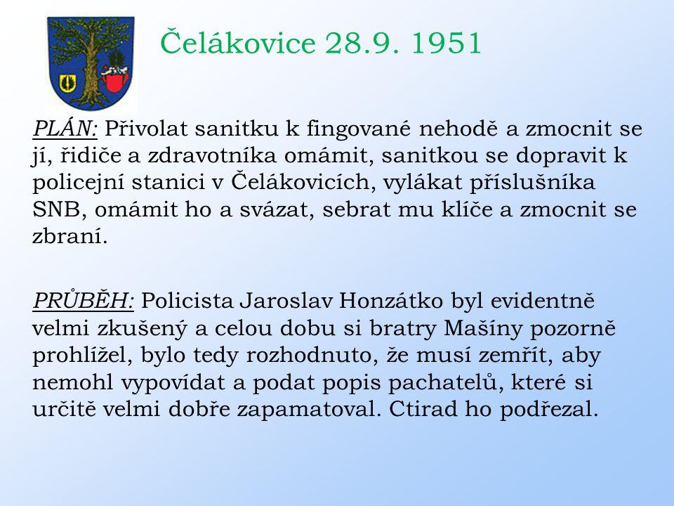 Čelákovice 28.9. 1951