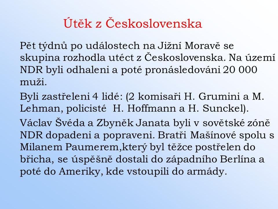 Útěk z Československa