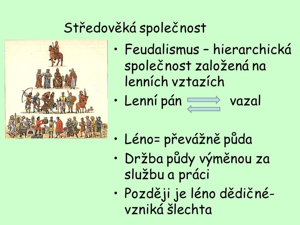 Středověká společnost