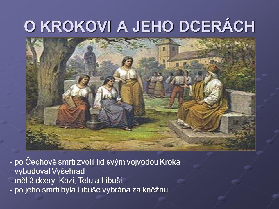 O KROKOVI A JEHO DCERÁCH