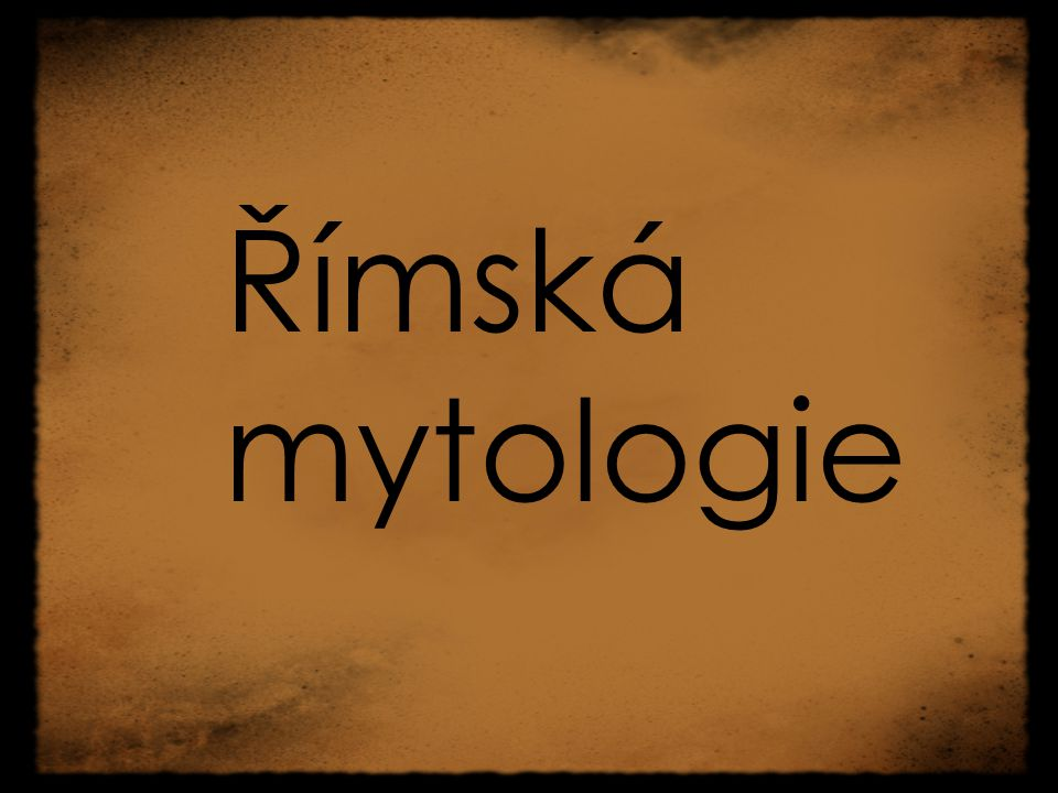 Římská mytologie