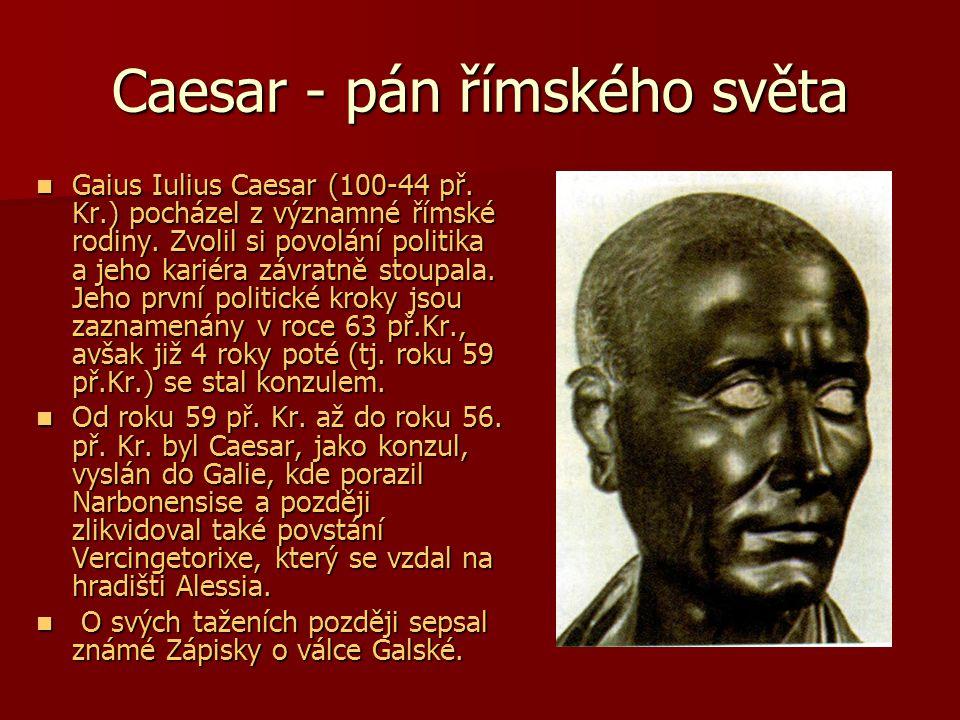 Caesar - pán římského světa
