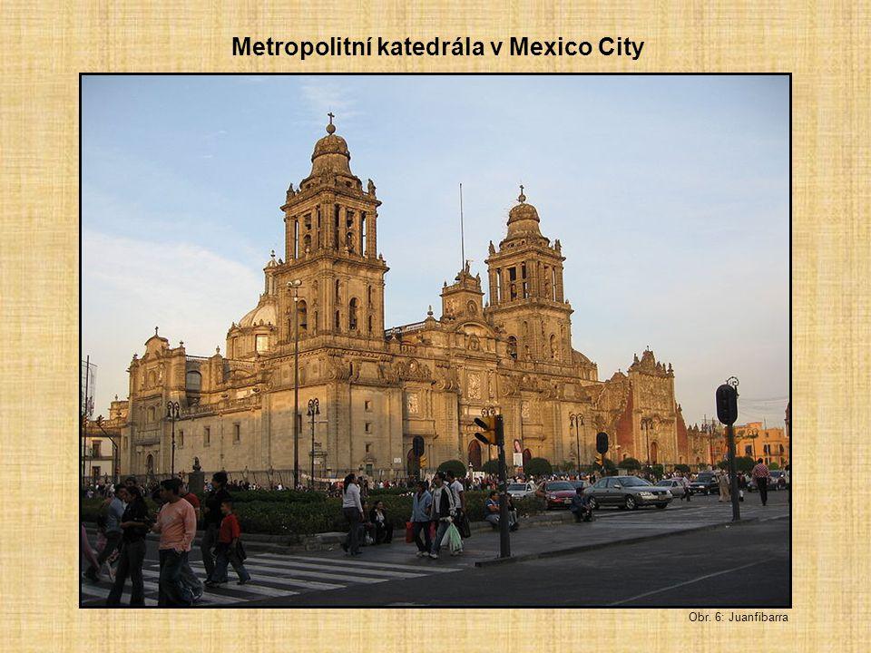 Metropolitní katedrála v Mexico City