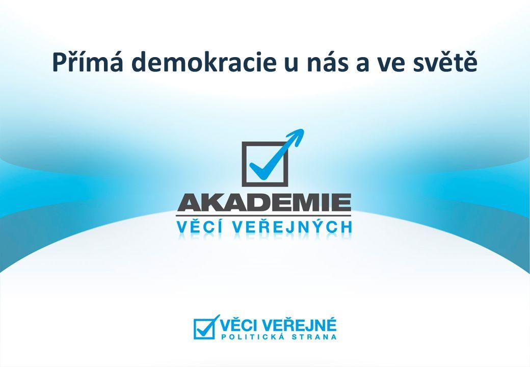 Přímá demokracie u nás a ve světě