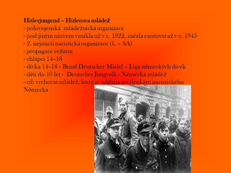 Hitlerjungend – Hitlerova mládež