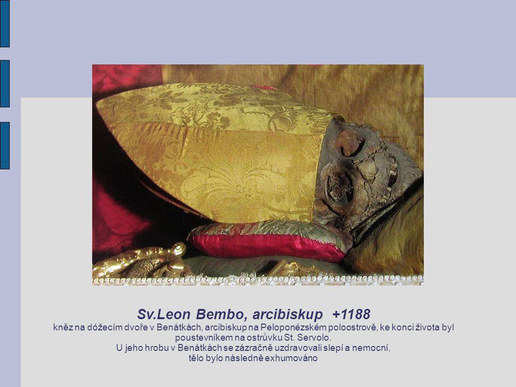 Sv.Leon Bembo, arcibiskup +1188