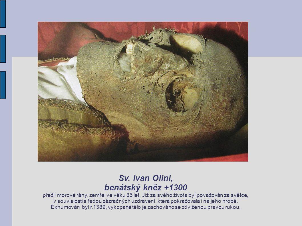 Sv. Ivan Olini, benátský kněz +1300