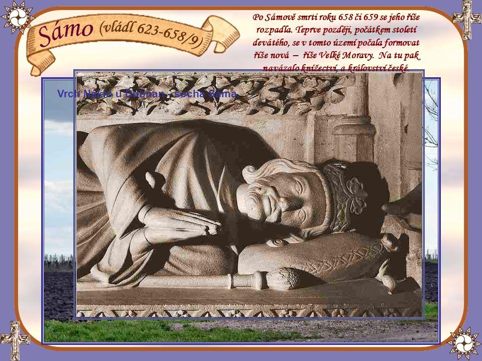 Po Sámově smrti roku 658 či 659 se jeho říše