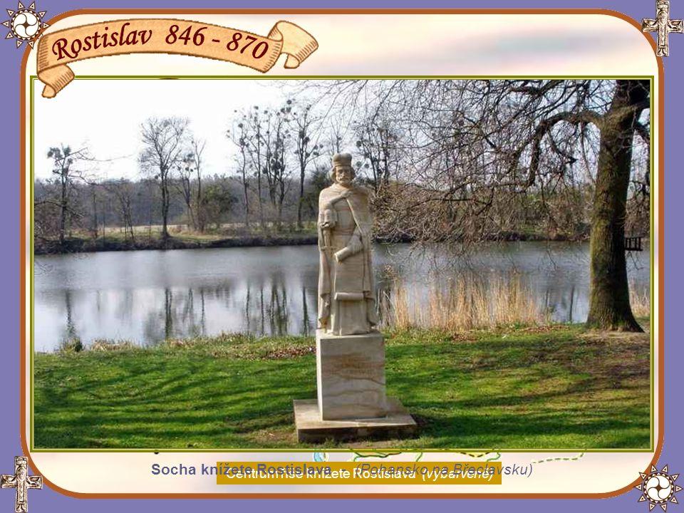 Po Mojmírově smrti král Ludvík Němec dosadil na velkomoravský stolec
