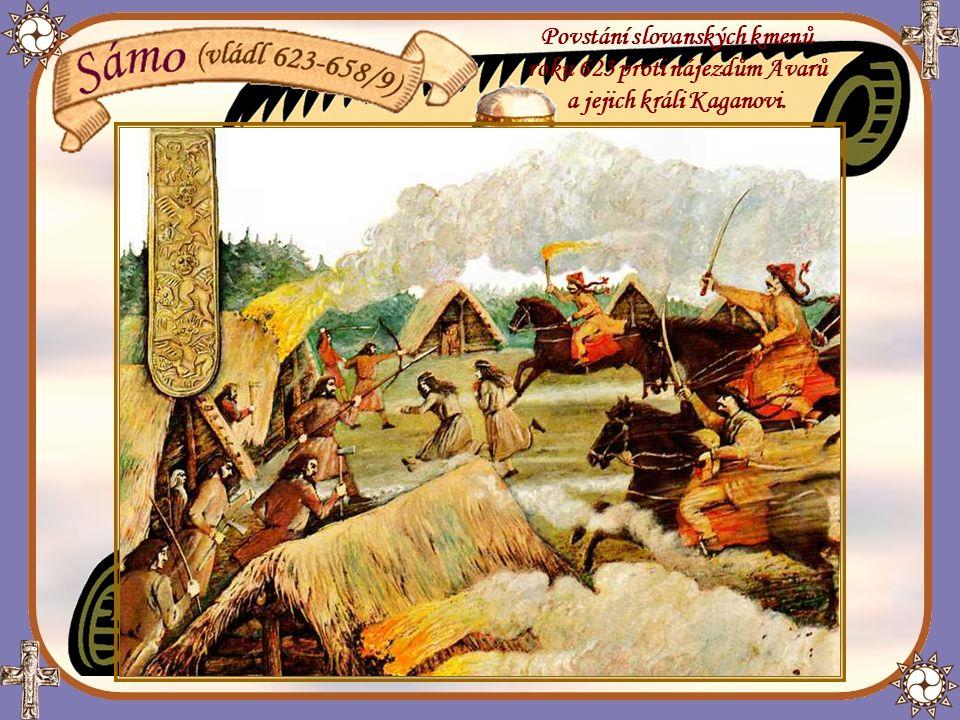 Povstání slovanských kmenů roku 623 proti nájezdům Avarů