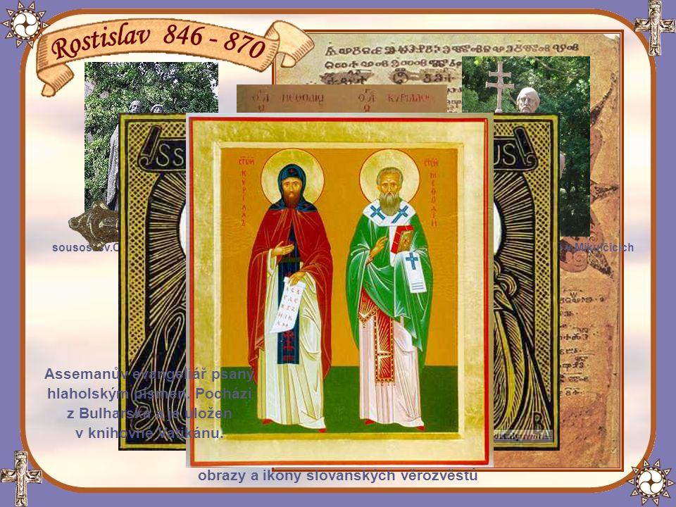 Misie těchto vzdělaných bratří, původem z řecké Soluně,