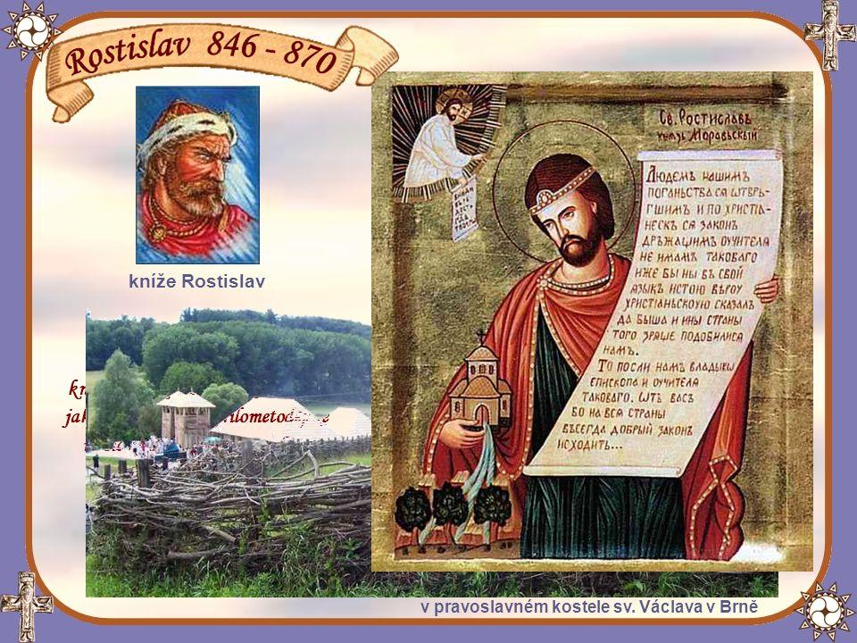 Vládychtivý Rostislavův synovec, nitranský kníže
