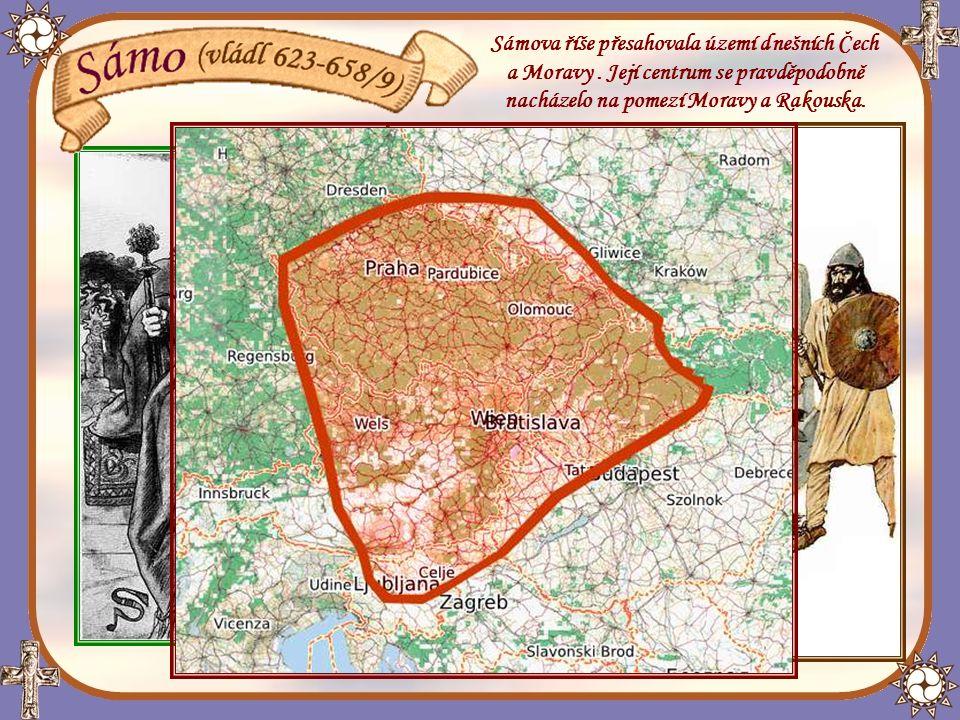 Sámova říše přesahovala území dnešních Čech