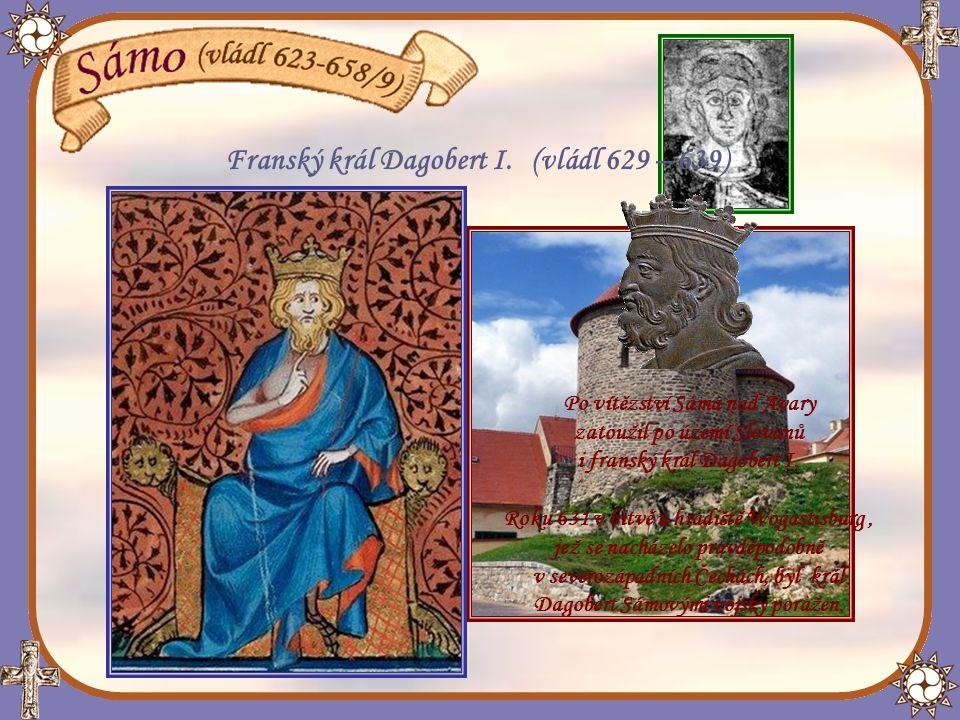 Franský král Dagobert I. (vládl 629 – 639)
